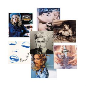 LITHOGRAPH COLLECTORS SET - LIMITED EDITION ALBUM COVERS (x7)